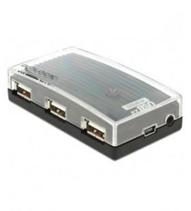 Hub USB Delock 4x USB 2.0...
