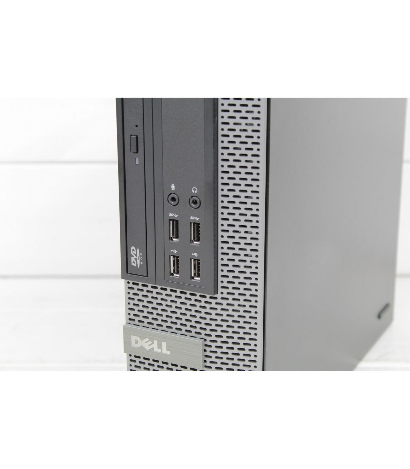 Poleasingowy komputer stacjonarny Dell OptiPlex 9020 SFF z Intel Core i5-4590 Klasie A.