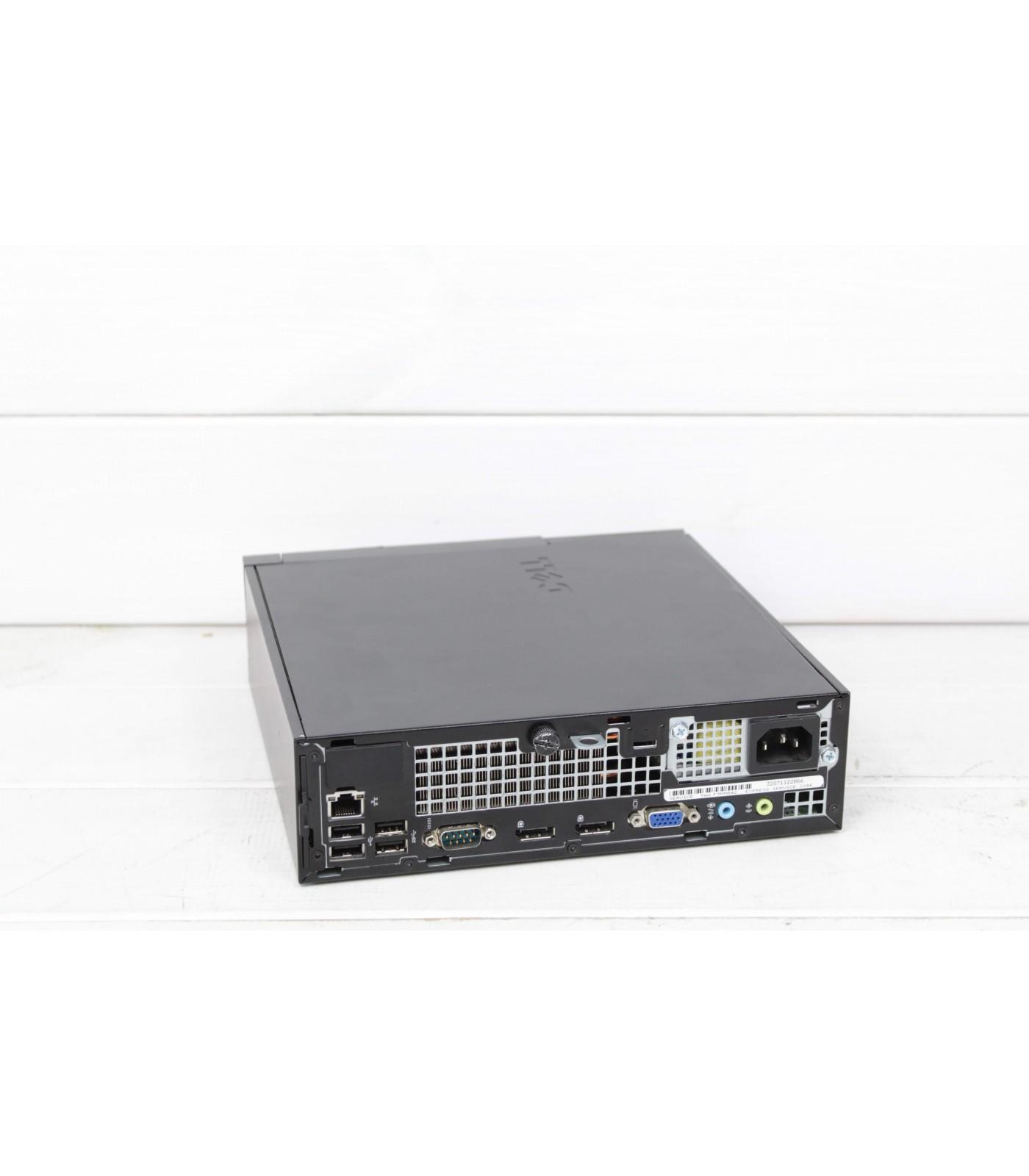 Poleasingowy komputer stacjonarny Dell OptiPlex 9020 USFF z Intel Core i5-4690S w Klasie A