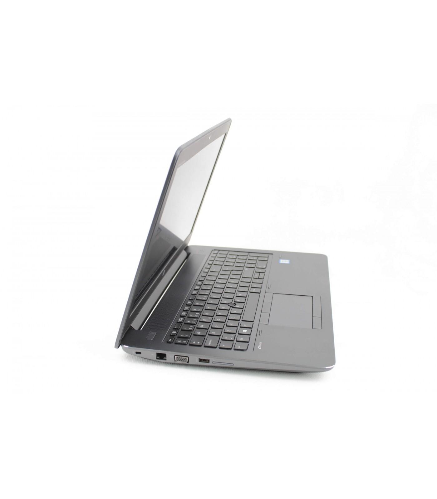 Poleasingowy laptop HP Zbook 15 G3 z Intel Core i7-6820HQ i kartą graficzną Nvidia Quadro M2000M, Klasa A-