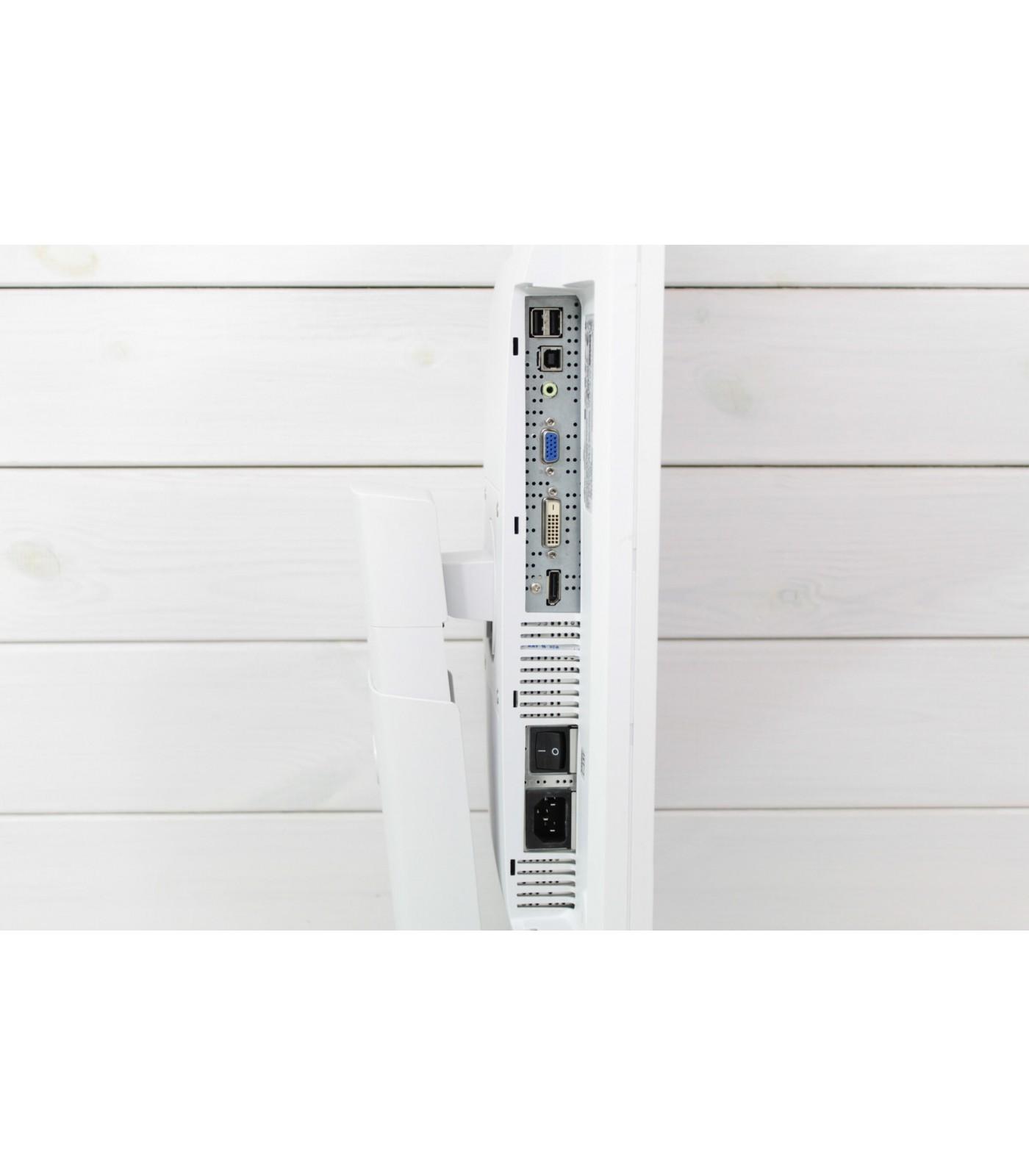Poleasingowy monitor Fujitsu P24W-6 z matrycą IPS o rozdzielczości 1920x1200px w klasie A+.
