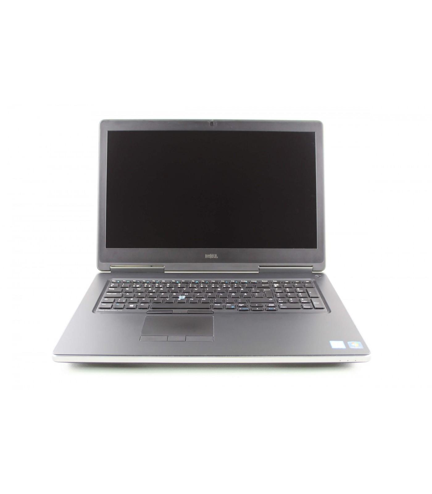 Poleasingowy laptop Dell Precision 7710 z Intel Core i7-6920HQ w klasie A