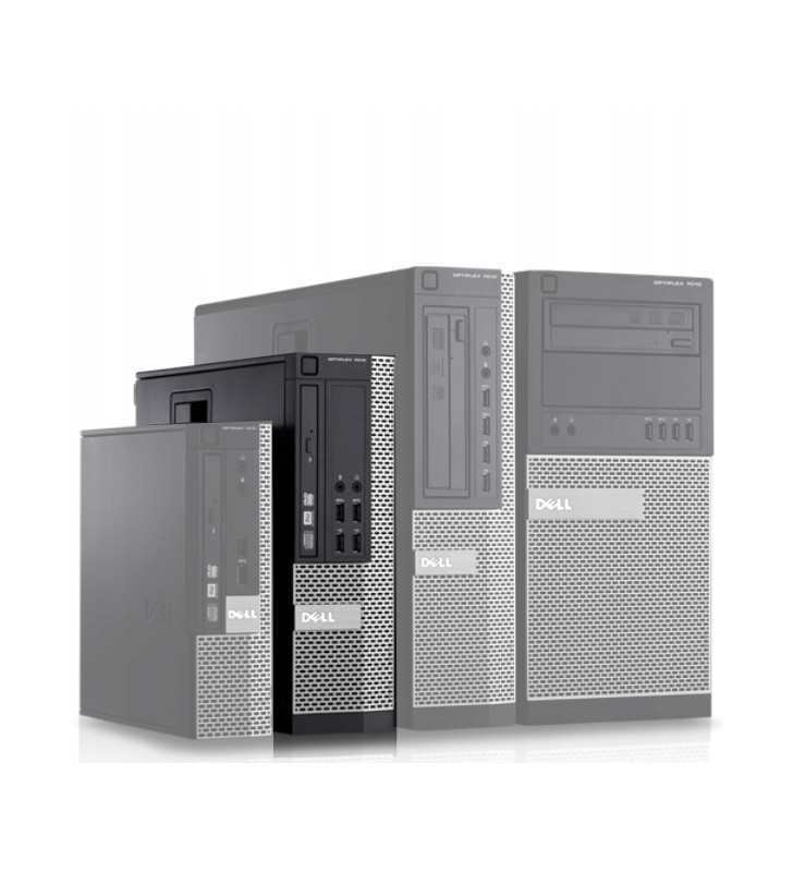 Poleasingowy komputer stacjonarny Dell OptiPlex 7010 SFF z Intel Core i5-3570, Klasa A