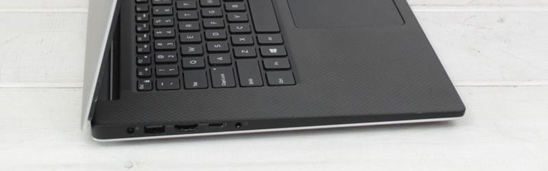 Lewa strona poleasingowego laptopa Dell Precision 5510