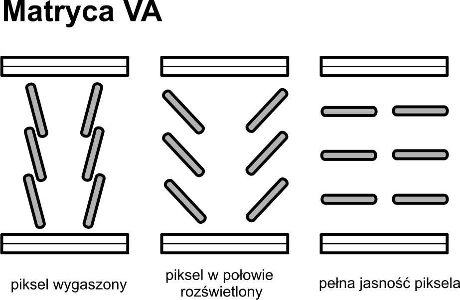 Matryca VA w monitorach komputerowych