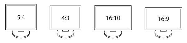 Format monitorów komputerowych